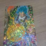 ドラゴンボールヒーローズのカードをまたまた購入!今回はべジータ!