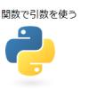 【Python】関数で引数を使う