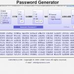 password generatorで複雑なパスワードも簡単生成!