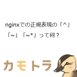 nginxでの正規表現の「^」「~」「~*」って何?