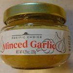 パスタ作るのに最高のニンニク「Minced Garlic」を購入。瓶から漏れてくるほどの強烈な匂いを放ってます